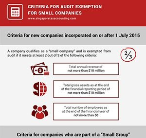 Criteria for Audit Exemption for Small Companies