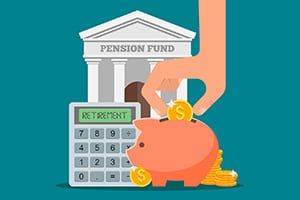 put money into retirement fund